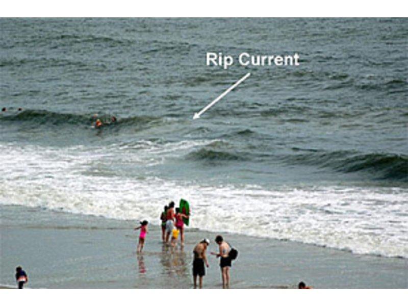 Long Branch Beach High Tide
