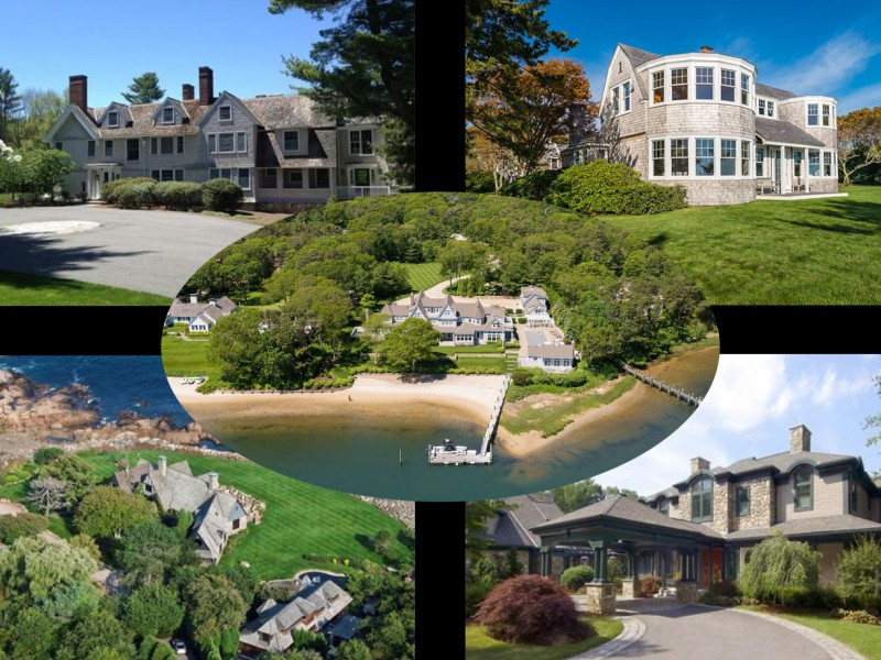 10 most luxurious homes on the market in massachusetts for Nice house in the world