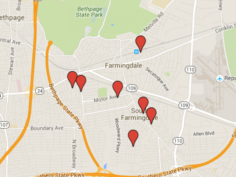 nys sex offenders map in Weybridge
