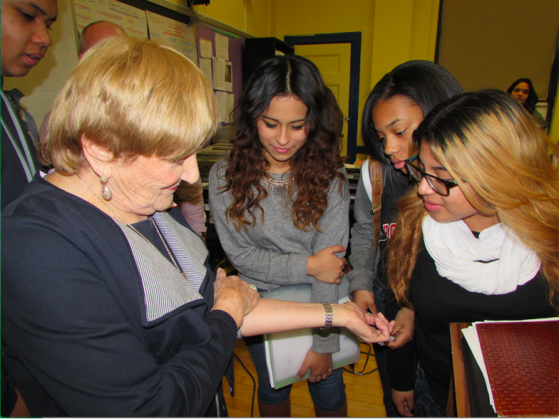 Holocaust Survivor Inspires Hoboken Students