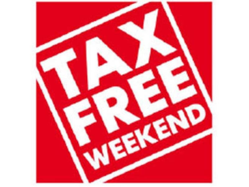tax free weekend - photo #14