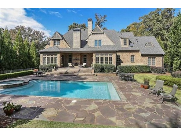 Wow House 2 4 M English Country Manor In Sandy Springs