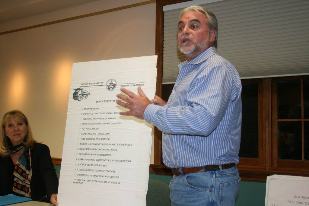 Southampton Town Highway Department Cleans Town's Mess