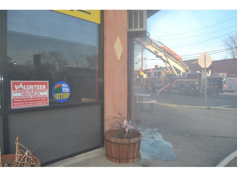 Fire Breaks Out At Oceanside Deli Patch