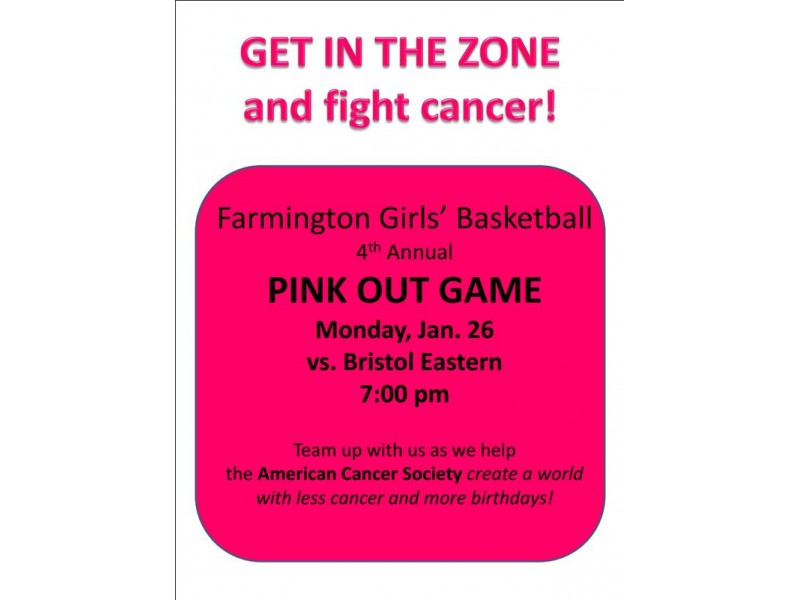 Pink Out Game Monday