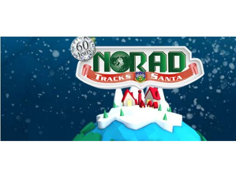 Track Santa with NORAD on Christmas Eve