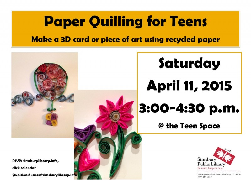 The Art of Paper Quilling Book Paper Quilling Art For Teens