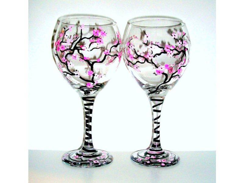 paint your own wine glass workshop reston va patch