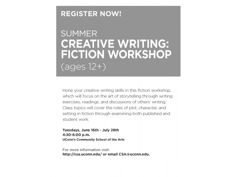 creative writing jobs in ct