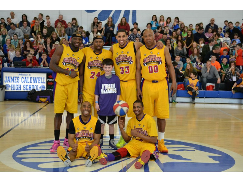 The World Famous Harlem Wizards Face Off This Sunday