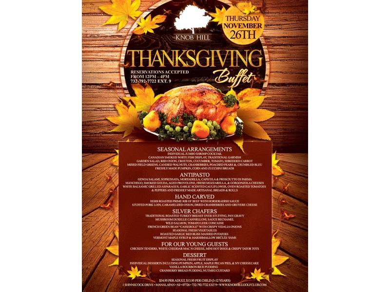 Thanksgiving Restaurants Princeton Nj