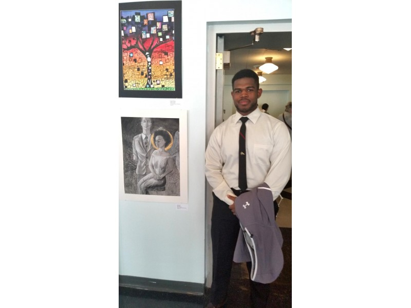 WOHS Student Wins Congressional Art Award