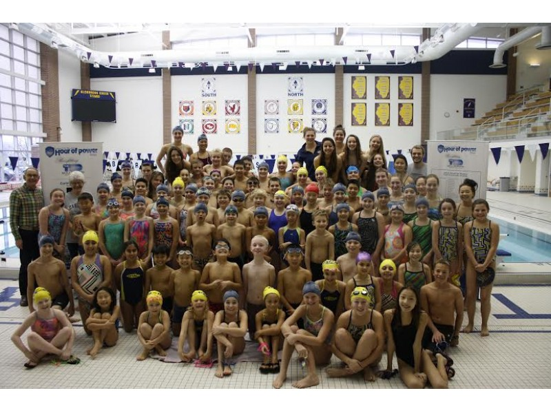 Glenview Titan Swimmers Raise Thousands For Sarcoma Research
