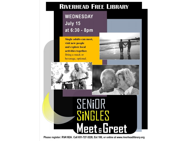 york senior singles Lining up plans in new york whether you're a local, new in town, or just passing through, you'll be sure to find something on eventbrite that piques your interest.
