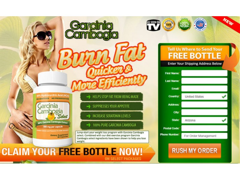 Garcinia Cambogia Extract Pure! Dr Oz Miracle Diet Pills Burns Fat
