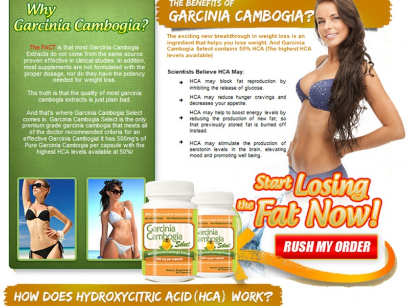 Dr Oz Garcinia Cambogia - The Pure All Natural Weight Loss Diet
