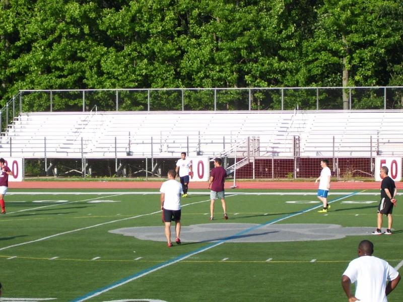 Alumni Soccer Game Chris Dhume Alumni Soccer