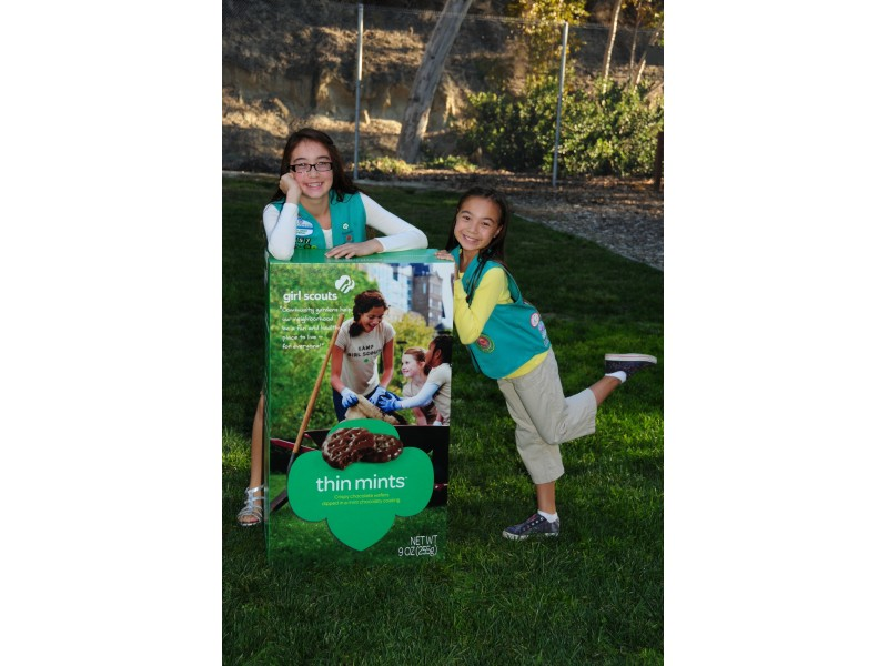 it s girl scout cookie time   poway ca patch