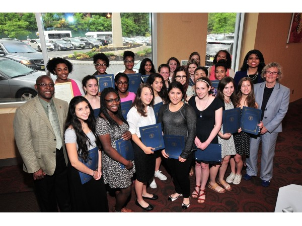 Columbia High School Girls Fencing Team Honored South
