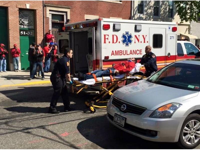 Verizon Strike 2016: NYPD Cop Hit Striker With Vehicle...