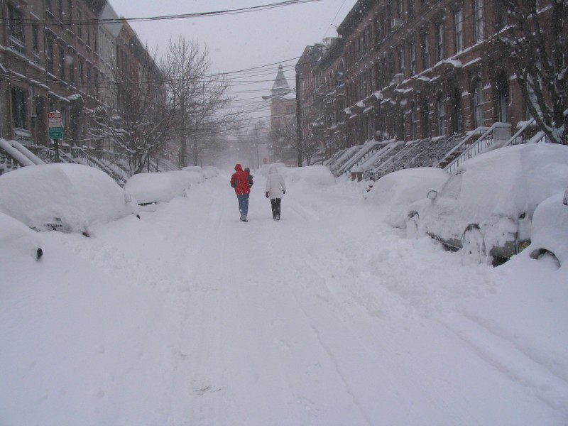 Consider helping others when snow sets in