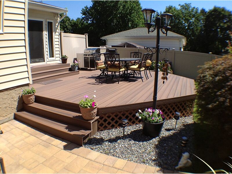Building a deck have you thought about fiberon for Building a composite deck