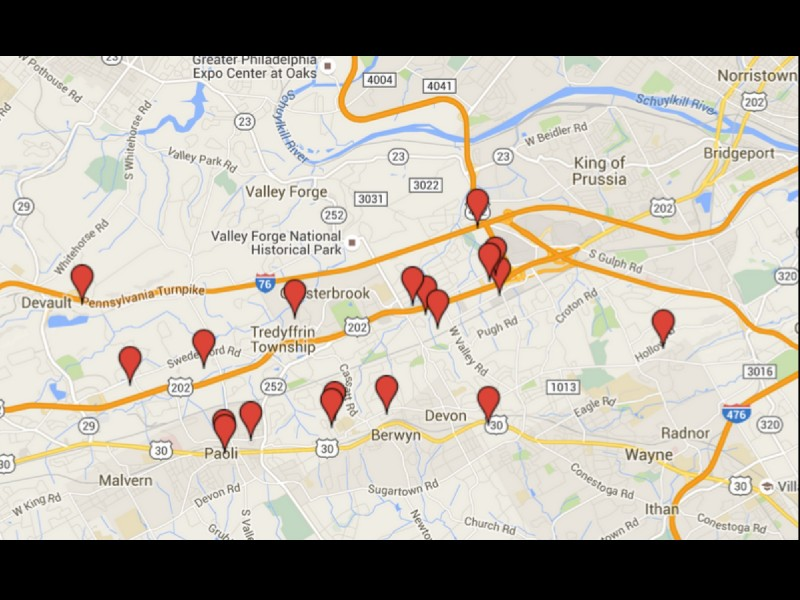 free map of sex offenders in pa in Pueblo