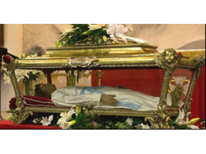Relics Of St Maria Goretti Coming To Plainfield Church