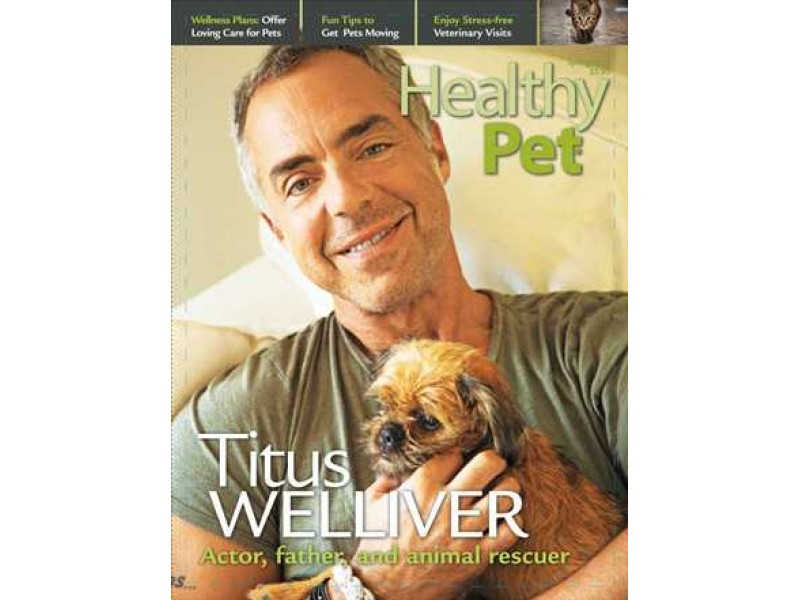 Healthypet magazine 39 s spring issue features 39 tough guy for Titus welliver tattoos