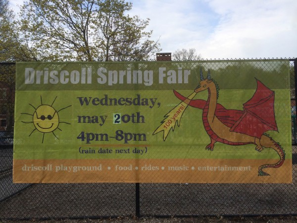 Driscoll school spring fair set for may 20 2015 for 20 brookway terrace roslindale ma