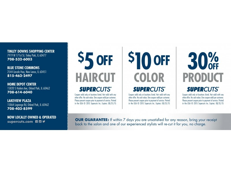 Supercuts printable coupon sep 2018