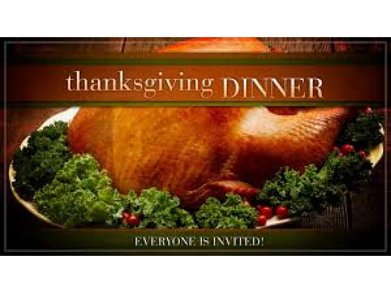 Complimentary thanksgiving day dinner with all the for Thanksgiving dinner with all the trimmings
