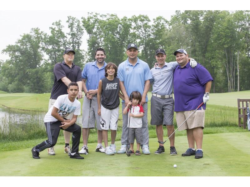 John starks celebrity golf outing