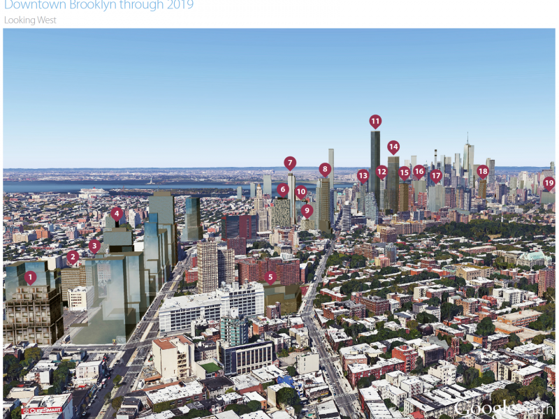 MAP North Brooklyn Will Get 22 000 New Apartments In Next Few Years Windso