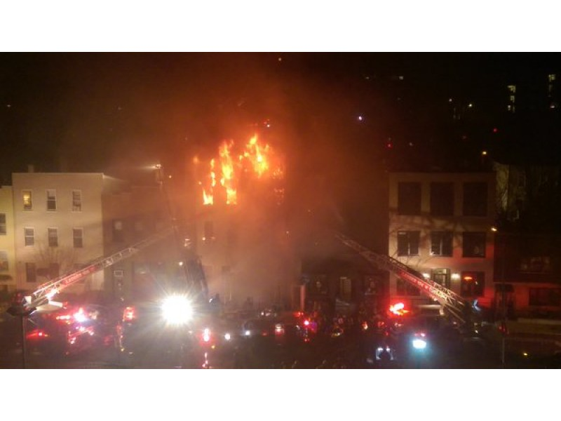 Fire rages through Brooklyn apartment building, killing 2