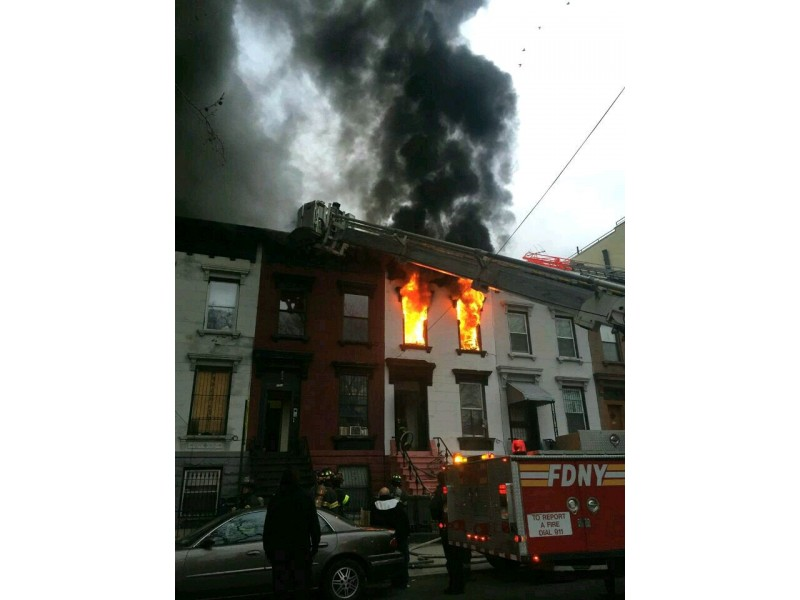 Girl, 2, Dies in Fire at Brooklyn Apartment