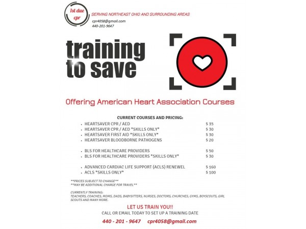 bls cpr healthcare providers training patch acls heart association american aha
