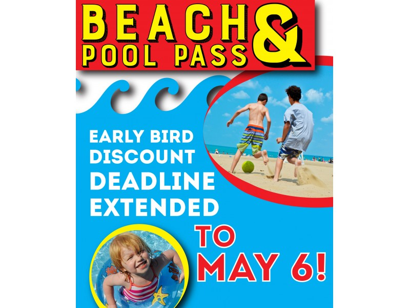 Wpd Beach And Pool Pass Early Bird Discount Extended Wilmette Il Patch