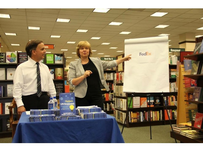 Dyslexic And Un Stoppable Book Signing Barnes Amp Noble