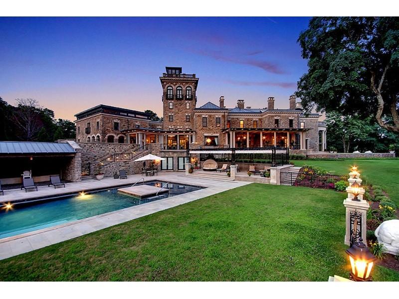 15 million home for sale in bernardsville patch for Modern homes nj