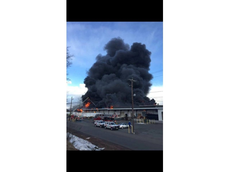 Cause of central New Jersey warehouse fire unknown