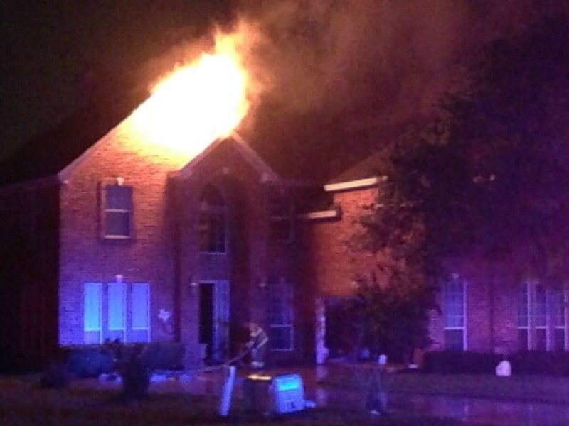 Round Rock House Fire Was Likely Caused By Lightning ...