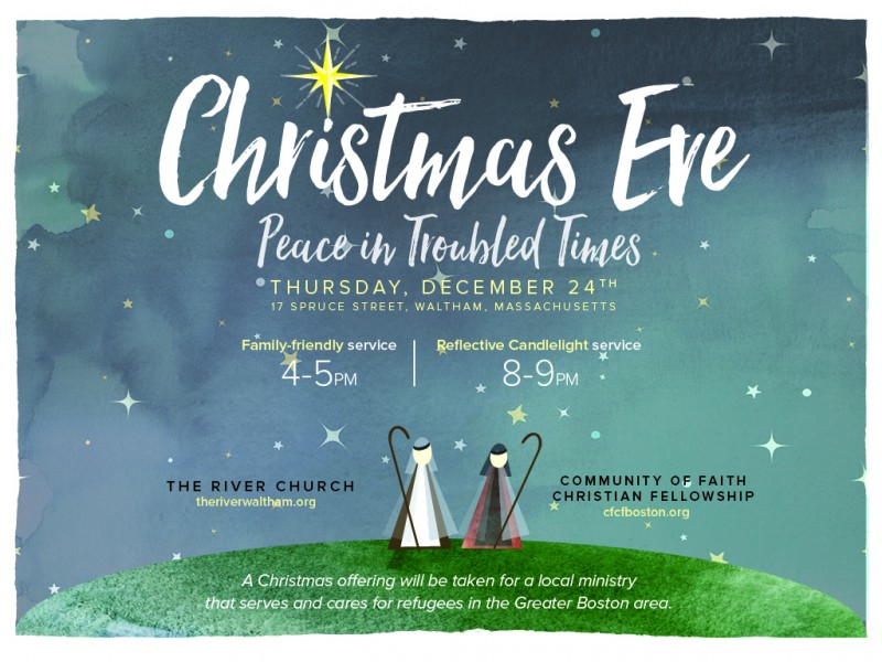 Christmas Eve Services At The River Church Patch