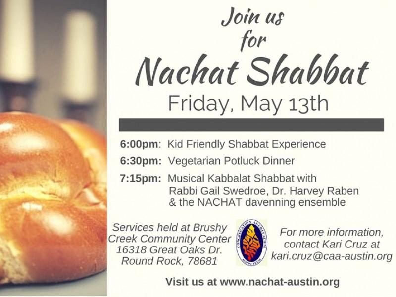 Shabbat Services Patch