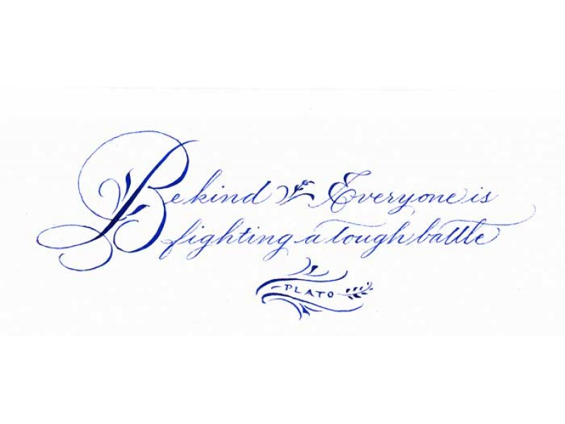 Calligraphy and drawing classes at bluestone farm living