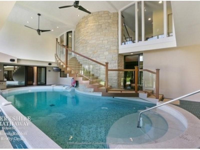 Wow House Indoor Pool Sauna Home Theater In Oak Brook