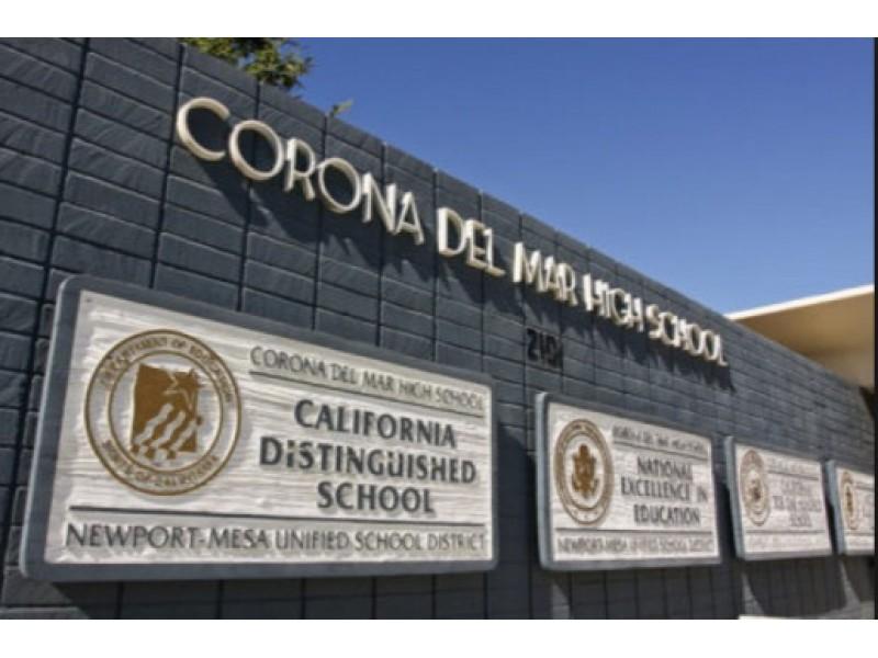 Luxury Vehicle: Corona Del Mar High Named In U.S. News & World Report's