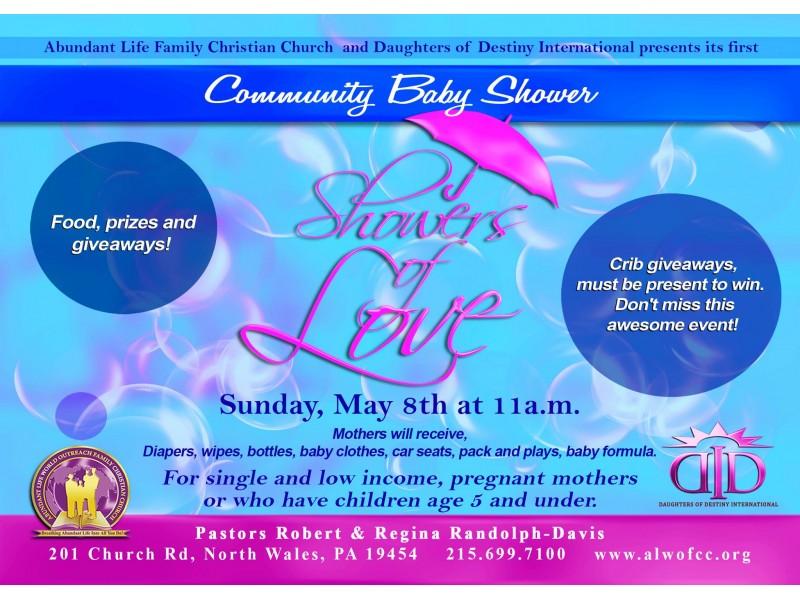 showers of love community baby shower