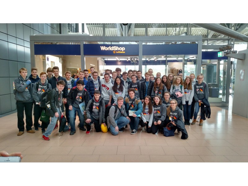 Mhs German Students Spend April In Germany Patch
