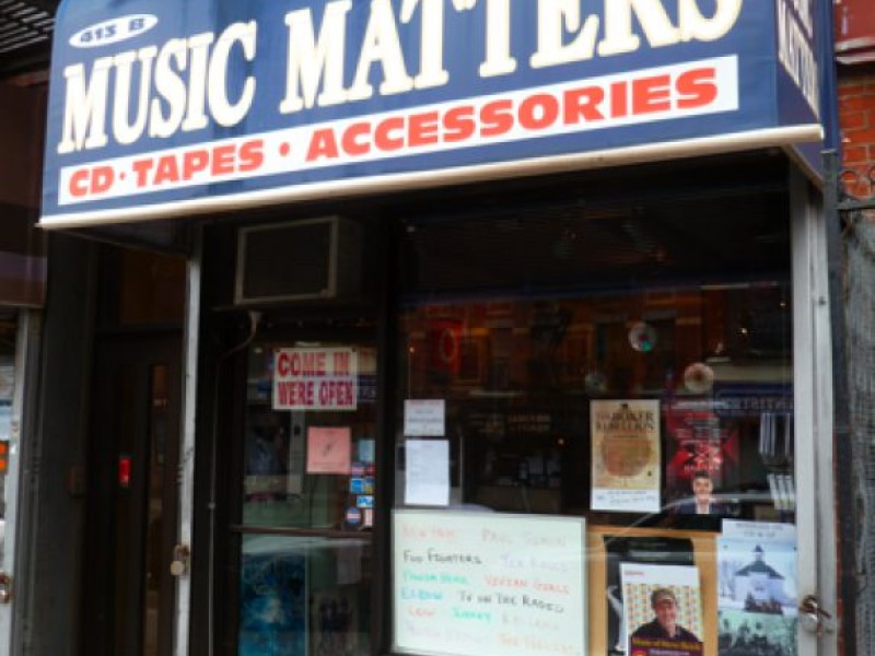 Music matters and so do cd stores park slope ny patch for 64 terrace place brooklyn